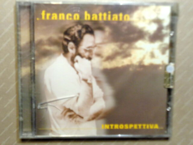 FRANCO BATTIATO  -  INTROSPETTIVA  -  CD 2001  NUOVO E SIGILLATO