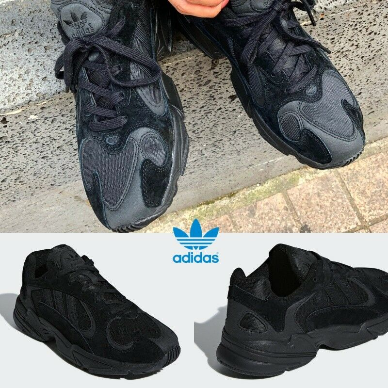 Adidas Originales Yung  1 G27026 Hi Zapatillas Triple Negro G27026 1 Correr Limited  9eebd8