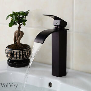 10 Bathroom Faucet Chrome Brushed Nickel Oil Rubbed Bronze Vessel One Handle Ebay