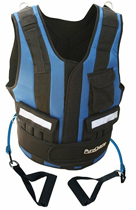 (100)NEW Pure Champ 10Weight Vest BY SUGAR SHANE MOSLEY WORLD CHAMPION BOXER