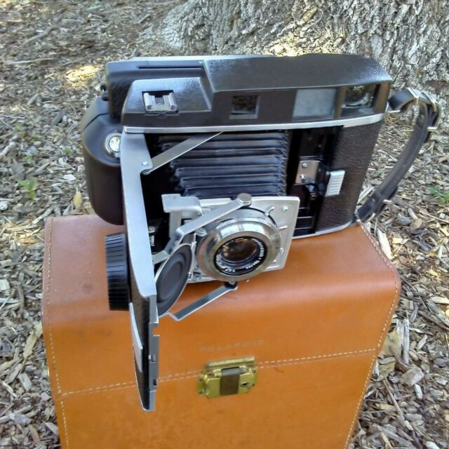 Polaroid 110B Converted to Instax Wide Film