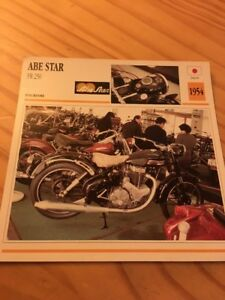 Abe-Star-FR-250-1954-Card-motorrad-Collection-Atlas
