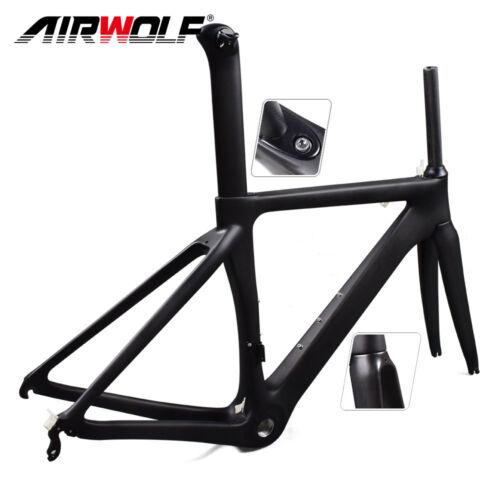 Full Carbon Fiber Bike Frame 48//51//54//56 Road Bike Frameset Carbon Bicycle Frame