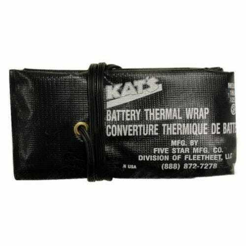 "Kat/'s Battery Thermal Wrap Heater 72/"" 160 Watt 120V"