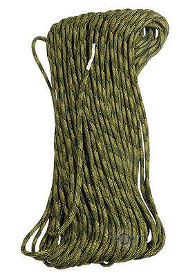 Paracord #550 Survival Hunting Nylon - 7 Strand Multi Camo Cord 100'
