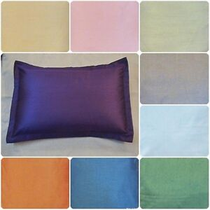 Bed Pillow Case Queen Standard King Size Covers Polyester