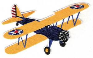 STEARMAN  Aircraft Airplane Aviation Collectable Patch Army Colors Emblem