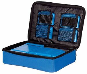 Map-Meat-Cutter-Storage-Case-with-Zip-Top-Access-amp-Mesh-Pockets-Coarse-Fishing