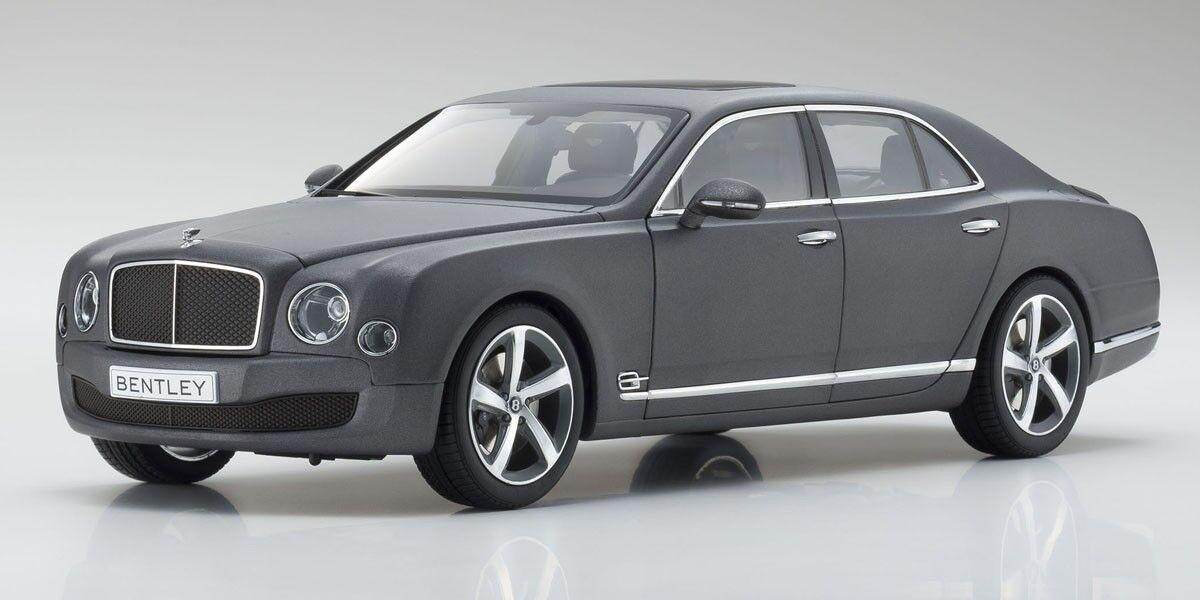 1/18 Kyosho Bentley Mulsanne Speed (Metallic Dark Grey Satin) new in box