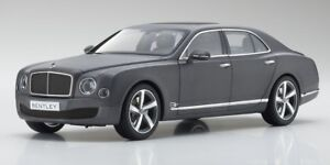 1-18-Kyosho-Bentley-Mulsanne-Speed-Metallic-Dark-Grey-Satin-new-in-box
