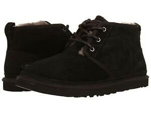 New UGG Men s Neumel Chukka Shoes Black Suede NEW Sz 7-13  NIB   8f76c3081