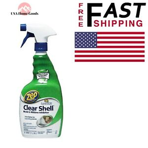 Zep Clear Shell Mold Mildew Inhibitor 32 Oz Liquid Bottle