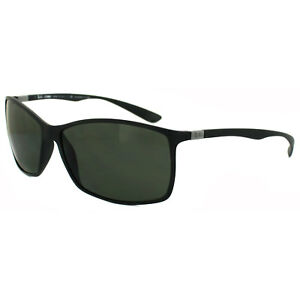 7edafaa7f1313 Image is loading RayBan-Sunglasses-4179-601S9A-Matt-Black-Polarized-Green