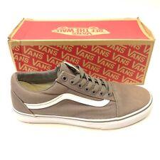 ec54328304f7 item 4 Vans Mens Old Skool Gray   White Canvas Lace Up Sneaker Skate Shoes  Size 8.5 -Vans Mens Old Skool Gray   White Canvas Lace Up Sneaker Skate  Shoes ...