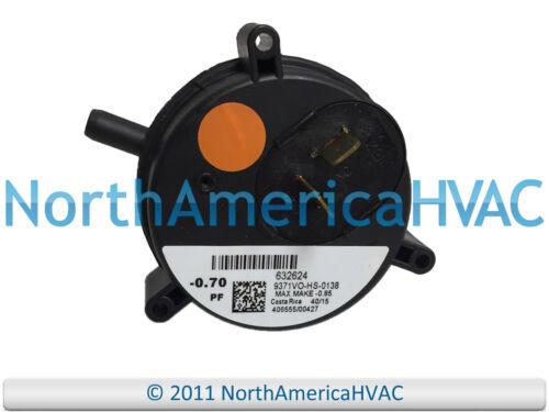 "MPL Furnace Venter Motor Air Pessure Switch 9371VO-HS-0138-0.70/"""