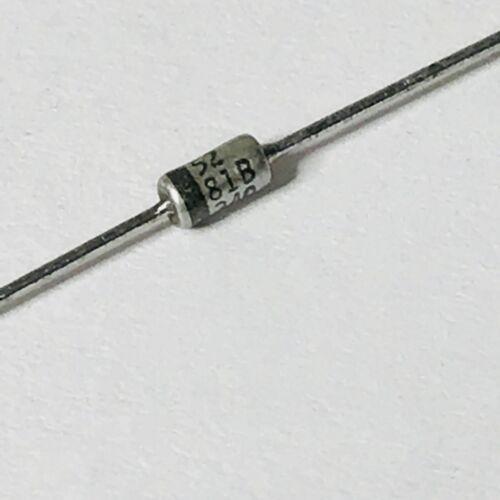 500 mW Fab = mot 10pcs- 1N5281B 5/% Zener unique 200 V 2-Pin Diode axial