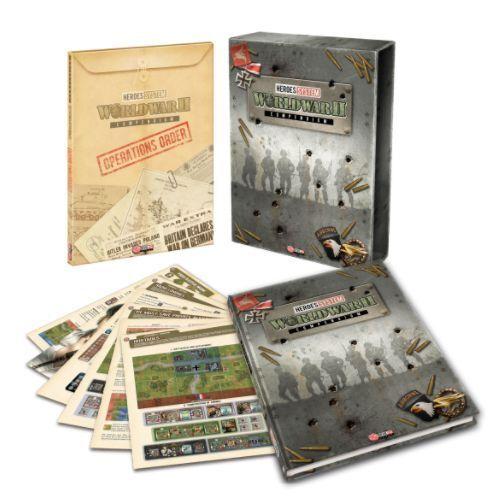 Iello Boardgame Heroes of Normandie - Compendium Box SW