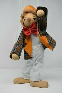 Collectable-Vintage-Marionette-Wood-Doll-16-inch-41cm-Tall