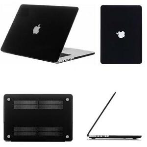 promo code ac0a0 3d252 Details about Black Rubberized Shell Case Cover for MacBook Pro 13