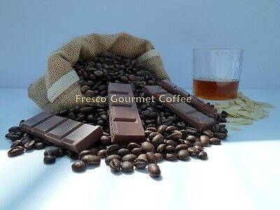Amaretto and Chocolate Flavoured Coffee Beans 100% Arabica Coffee Beans Flavour