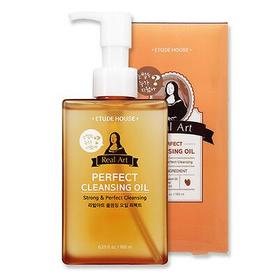 [ETUDE HOUSE] NEW Real Art Cleansing Oil #Perfect 185ml  / for deep makeup