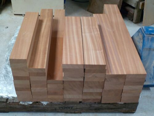 Plank Planed all round Sapele Mahogany wood boards Shelf 32mm thick DIY