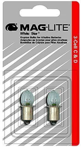 New MAGLITE LMXA301 Flashlight Replacement Bulb Lamp 3-Cell C /& D Xenon Bi-Pin