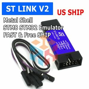 ST-Link V2 Mini STM8 STM32 STLINK Simulator Download Programming Unit USA SHIP