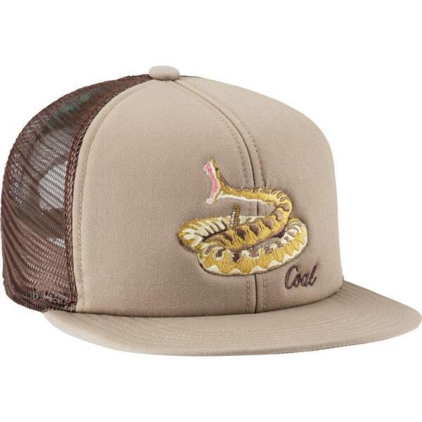 6e0ff5deb11 Coal Wilds Rattlesnake Mens Snake Snapback Cap Hat
