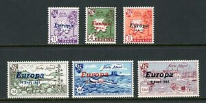 Guernsey-MNH-OVPT-Europa-1961-on-Hern-Island-OS-2