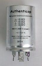 40/40/20/20 uf 550V/600 ELECTROLYTIC CAPACITOR EICO HF81