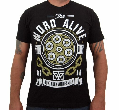Bullets THE WORD ALIVE Men/'s T-Shirt