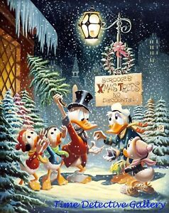 Scrooge Mcduck Christmas.Details About Vintage Disney Scrooge Mcduck Christmas Poster Available In 5 Sizes