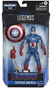 Marvel-Legends-Avengers-Endgame-Captain-America-6-034-Action-Figure-Thor-BAF