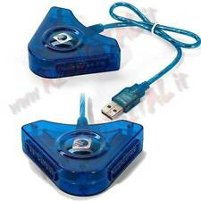 ADATTATORE CONTROLLER PLAYSTATION 2 a PC JOYSTICK DELLA PS2 CONSOLE CAVO GIOCO