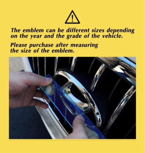 Tigris Front Rear Horn Wheel Emblem For Hyundai Tucson TL