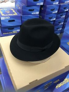 Image is loading Vintage-Authentic-HUCKEL-SELCO-Rover-Style-Fedora-Hat- e1b02bb41f78