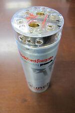 Used Rockford Fosgate 1.0 Punch Capacitor 1-Farad 16V w/ Distribution Block