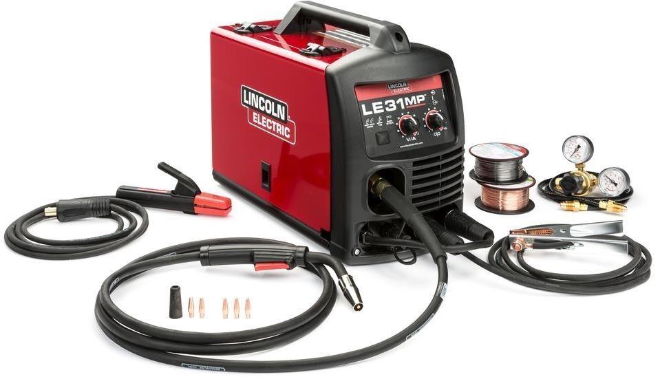 K3461-1 jsn2000 Lincoln K3461-1 LE31MP Multiprocess Welder, MIG, TIG, Stick, 120V 120Amp (NEW)