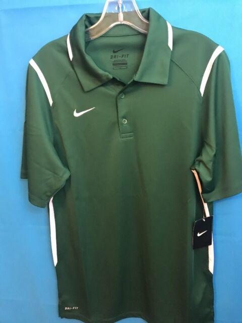 8ea737050df6 Men s Small Nike Game Day Dri Fit Polo Golf Shirt 706710 Green Retail  40 10