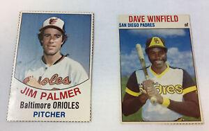 Dos-Azafata-a-Tarjetas-1977-Jim-Palmer-1-1979-Dave-Winfield-125