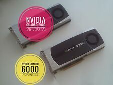 NVIDIA Quadro 6000 6gb perfetta! Come nuova! Perfect! Like new!