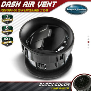 Dash-AC-Heater-Air-Vent-Black-for-Lincoln-Mark-LT-Ford-F-150-09-14-9L3Z-19893-AA