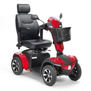 Drive 30 Mile Range Mobility Aid Heavy Duty 8mph 4 Wheeled Scooter Shoprider