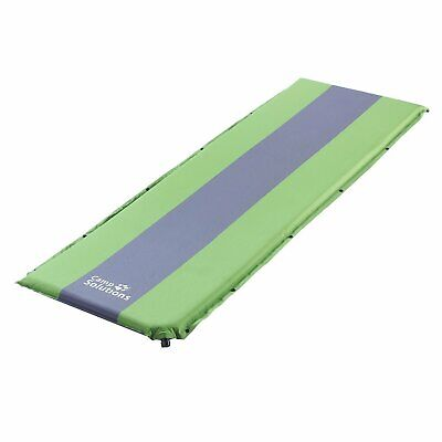 Hiking and Backpacking Camp Solutions Lightweight Sleeping Pad Self Inflating Camping Pad with Built in Pillow for Camping