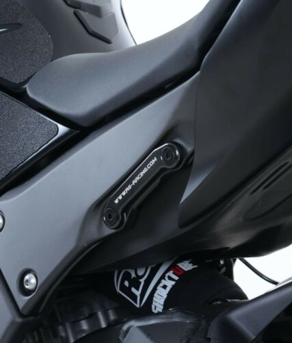 R/&G Exhaust Hanger /& Rear Footrest Blanking Plate Kit Kawasaki ZX10-R 2011 2012