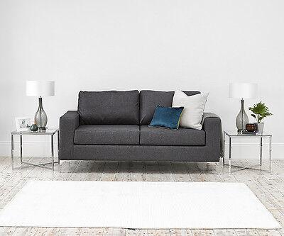 Sofa Grey Fabric Uk Made Sofas