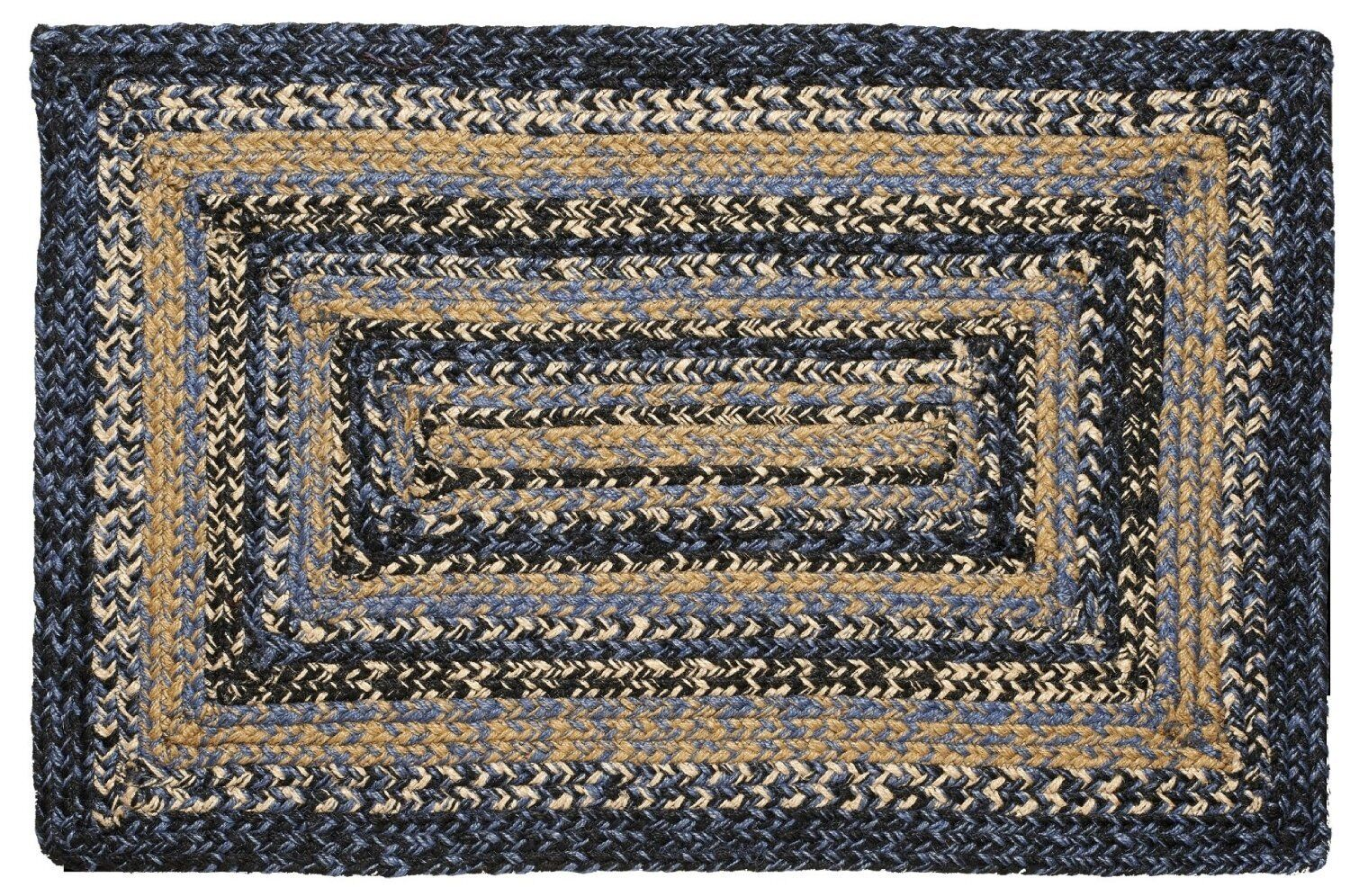 IHF HOME DECOR 20 X 30 BRAIDED NATURAL AREA FLOOR JUTE