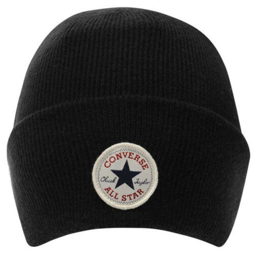 Converse Cuff Beanie Hat Beanie Hat Knitted One Size NEW
