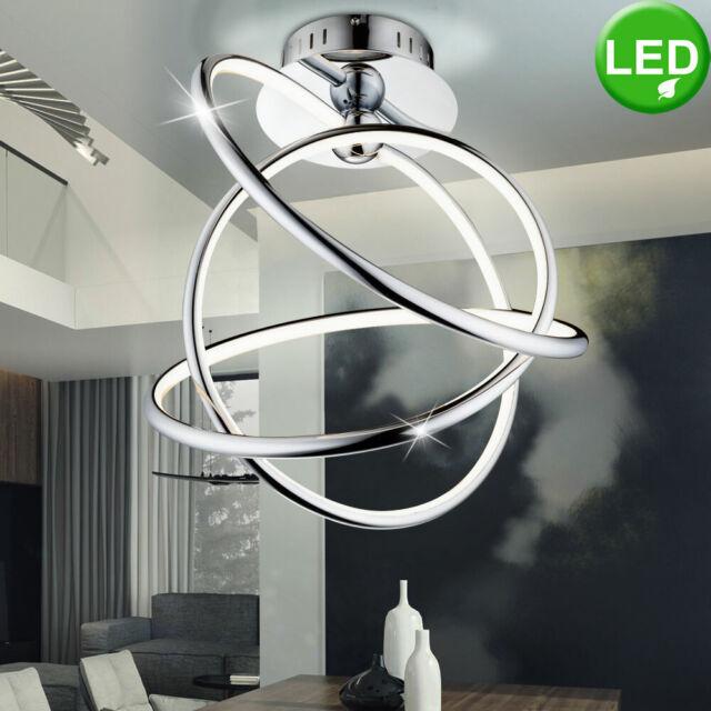 Design LED Decken Lampe Ring Strahler Wohn Zimmer Leuchte Flur Beleuchtung rund
